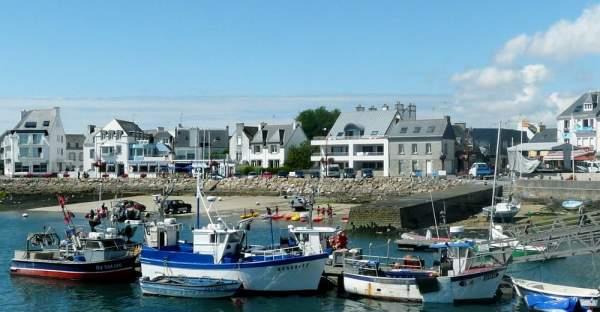 Port de Lesconil en Bretagne